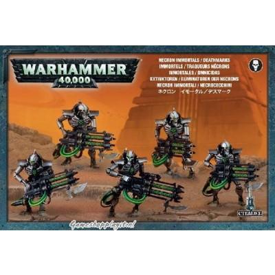 Foto van Necron Immortals / Deathmarks Warhammer 40k