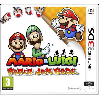 Mario & Luigi Paper Jam Bros. 3DS
