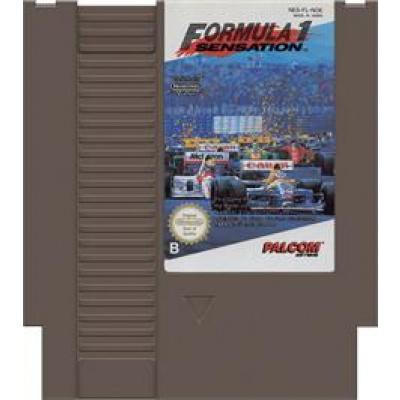 Foto van Formula 1 Sensation (Cartridge Only) NES
