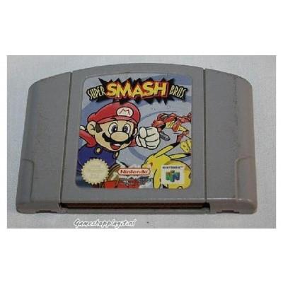 Foto van Super Smash Bros. (Losse Cassette) N64