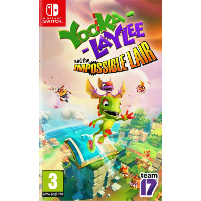 Foto van Yooka-Laylee And The Impossible Lair SWITCH