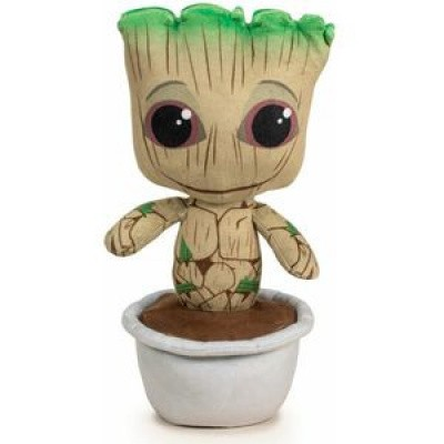 Foto van Marvel Guardians of the Galaxy - Baby Groot in Pot Pluche 29 cm PLUCHES
