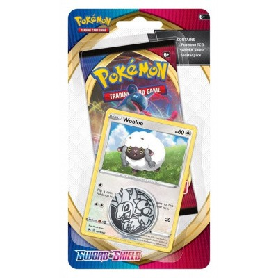 TCG Pokémon Sword & Shield Checklane Booster - Wooloo POKEMON