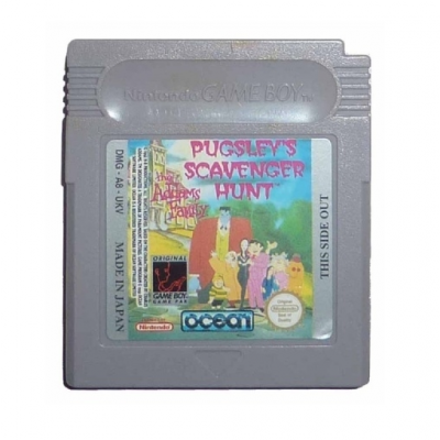 Foto van The Addams Family: Pugsley's Scavenger Hunt (Cartridge Only) GAMEBOY