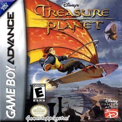 Foto van Disney's Piratenplaneet De Schat Van Kapitein Flint GBA