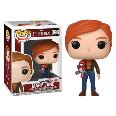 Pop! Games: Marvel Spider-man - Mary Jane with Plush FUNKO
