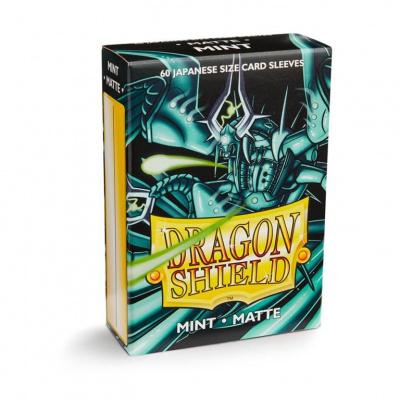 TCG Sleeves Matte Dragon Shield - Mint (Japanese Size) SLEEVES