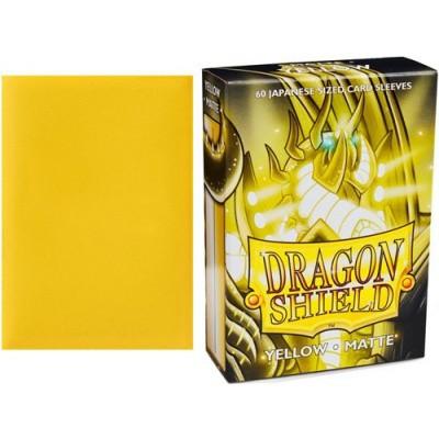 TCG Sleeves - Dragon Shield - Yellow Japanese Size