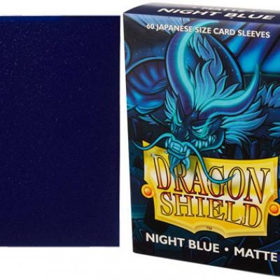 TCG Sleeves - Dragon Shield - Night Blue Japanese Size
