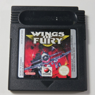 Foto van Wings Of Fury GBC LOSSE GAME