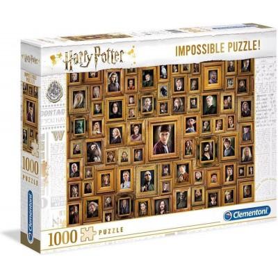 Foto van Harry Potter Impossible Puzzle 1000pc PUZZEL