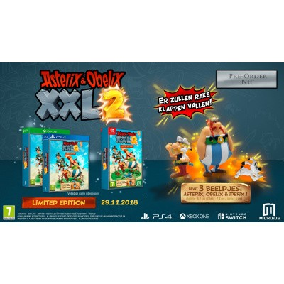 Asterix & Obelix Xxl 2 Limited Edition SWITCH
