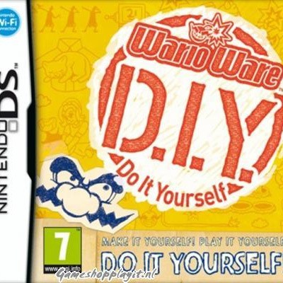 Wario Ware Do It Yourself D.I.Y. NDS