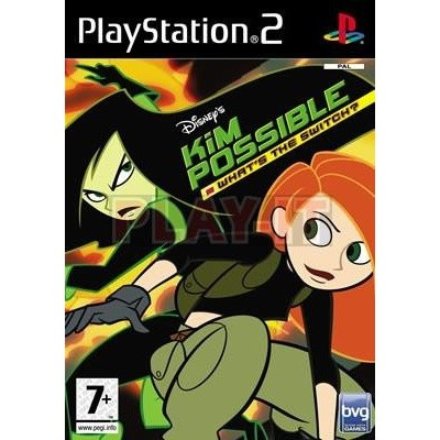 Kim Possible: What's The Switch? PS2