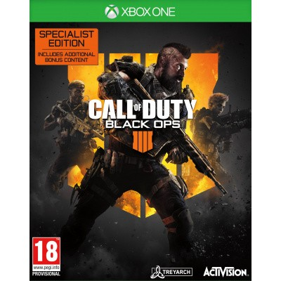 Call Of Duty: Black Ops 4 Specialist Edition XBOX ONE