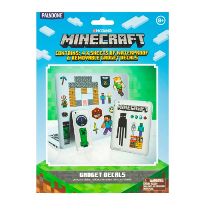 Minecraft: Gadget Decals MERCHANDISE