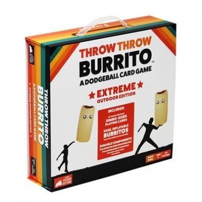Foto van Throw Throw Burrito Extreme Outdoor Edition