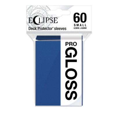 Foto van TCG Sleeves Eclipse Gloss - Pacific Blue (60 Sleeves) (Small Size) SLEEVES