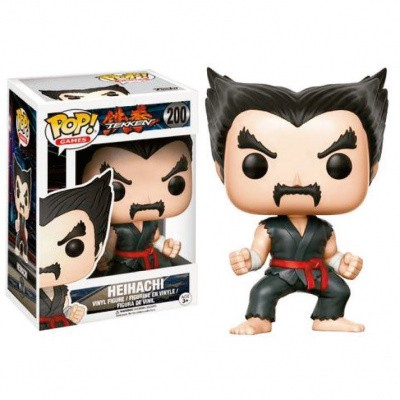 Foto van Pop! Games: Tekken - Black And Red Judo Heihachi Le FUNKO