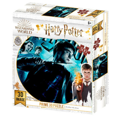 Foto van Harry Potter Prime 3D puzzle 500pcs PUZZEL