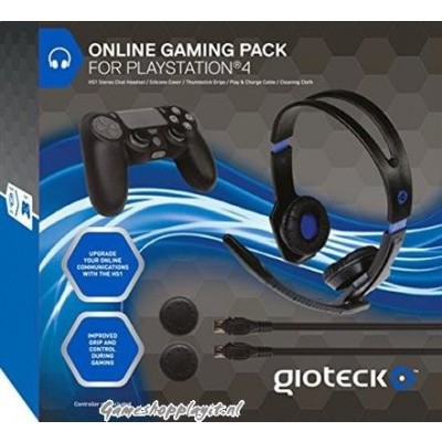 Foto van Gioteck Online Gaming Pack PS4
