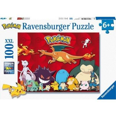 Foto van Ravensburger Pokémon XXL Puzzle 100pc PUZZEL
