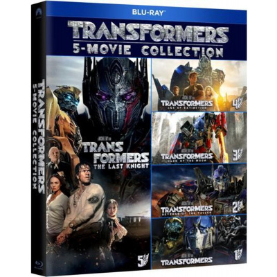 Foto van Transformers 5-movie Collection BLU-RAY MOVIE