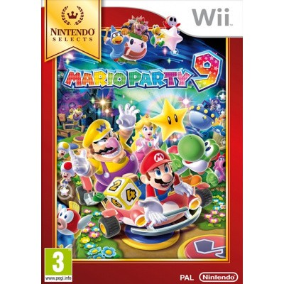 Foto van Mario Party 9 (Selects) Wii
