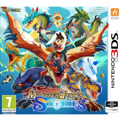 Foto van Monster Hunter Stories 3DS