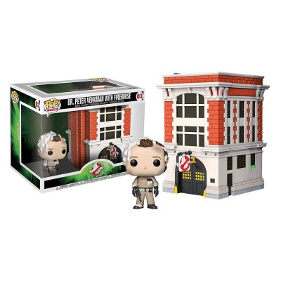 Foto van Pop! Town: Ghost Busters - Dr. Peter Venkman With Firehouse FUNKO