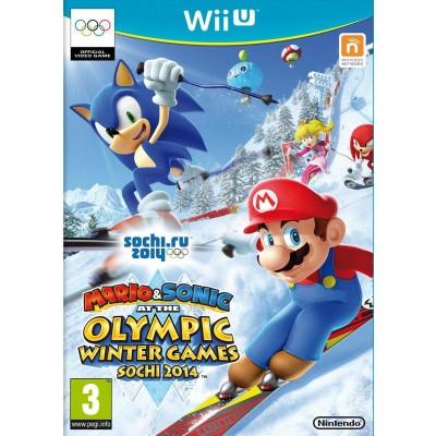 Mario & Sonic Op De Olympische Winterspelen Sotsji 2014 WII U