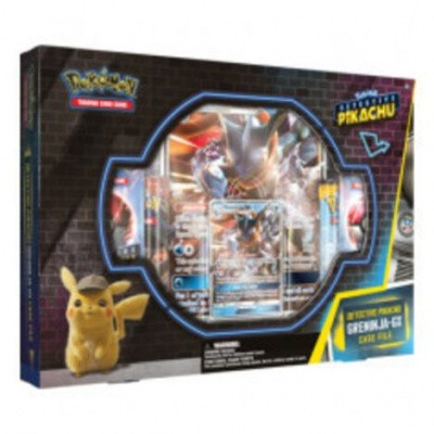 Foto van Tcg Detective Pikachu Greninja-Gx Case File Box Pokemon POKEMON
