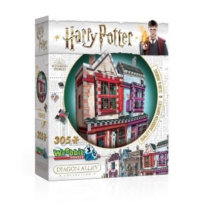 Foto van Wrebbit: Harry Potter - Quidditch Supplies Slugg & Jiggers 3D Puzzle