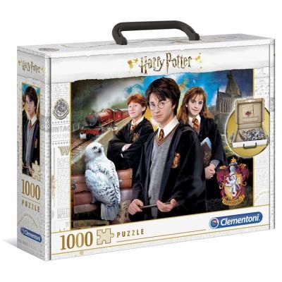Foto van Harry Potter Puzzle Brief Case 1000pc PUZZEL
