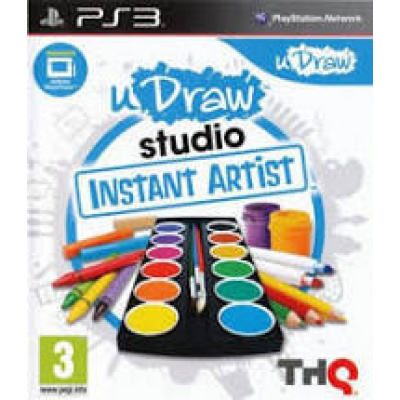 Foto van Udraw Game Tables + uDraw Studio Instant Artist PS3