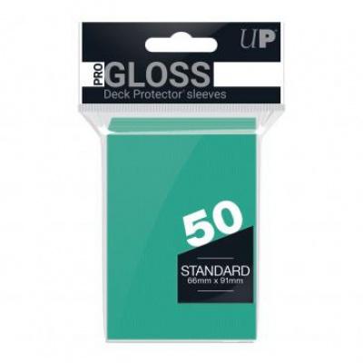 TCG Sleeves Pro Gloss Ultra Pro - Bright Aqua (Standard Size) SLEEVES