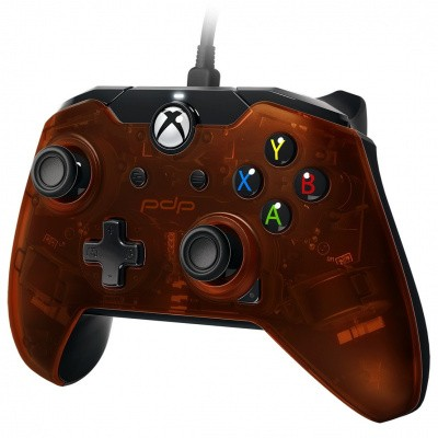 Foto van Pdp Wired Controller Ember Orange Xbox One
