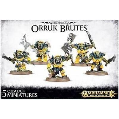 Foto van Ironjawz Orruk Brutes Warhammer Age of Sigmar