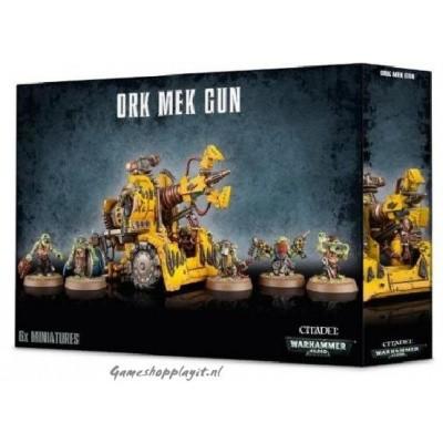 Foto van Ork Mek Gun Warhammer 40k