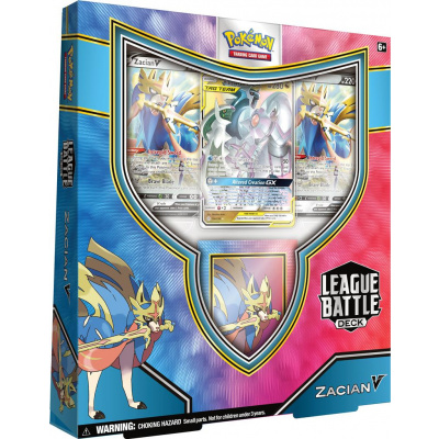 Foto van TCG Pokémon League Battle Deck - Zacian V POKEMON