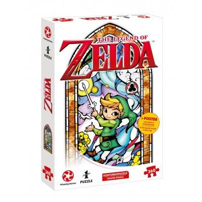 Foto van The Legend Of Zelda Link The Wind Waker Puzzle 360pc PUZZLE