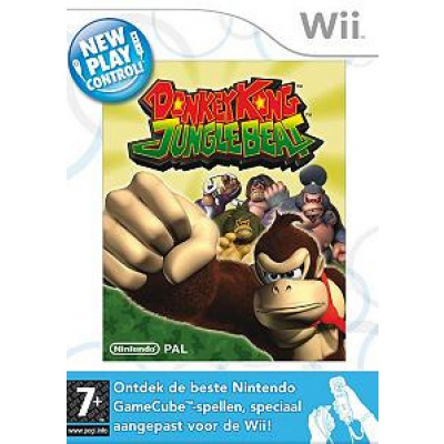 Donkey Kong Jungle Beat WII