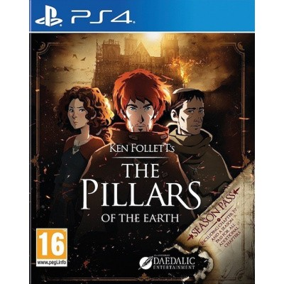 Foto van Ken Folleth's: The Pillars of the Earth - Complete Edition PS4