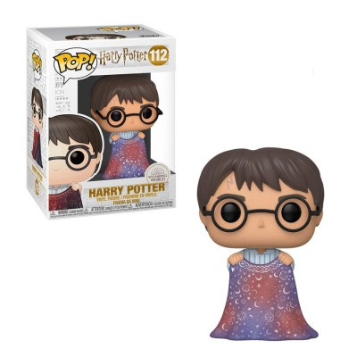 Foto van Pop! Harry Potter: Harry Potter With Invisibility Cloak FUNKO