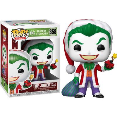 Pop! Heroes: DC Holiday - Santa Joker FUNKO