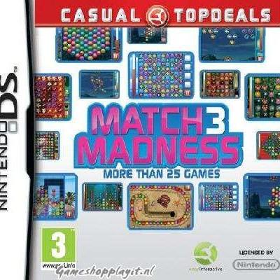 Foto van Match 3 Madness NDS
