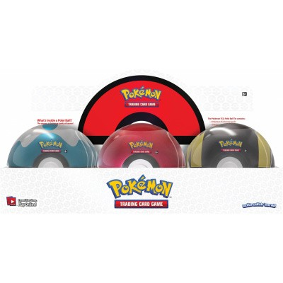 Foto van TCG Pokémon Pokéball Tin Q1 2020 POKEMON