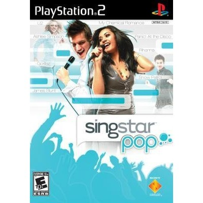 Singstar Pop Hits + Microphone PS2