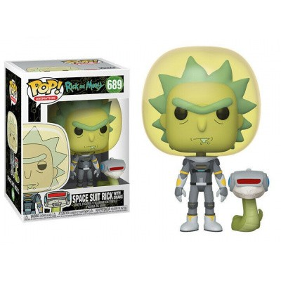 Foto van Pop! Animation: Rick And Morty - Space Suit Rick With Snake FUNKO