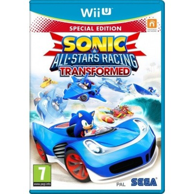 Sonic & All Stars Racing Transformed Special Edition WII U